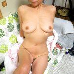 六十路で年金生活してる性欲たっぷりな還暦熟女の高齢ヌードエロ画像